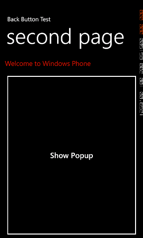 How to: Close a Popup dialog in a WP7 Application using the Back key